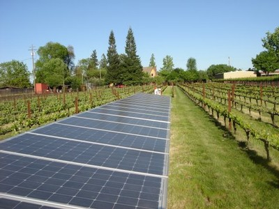 Solar Panels at Las Cerezas